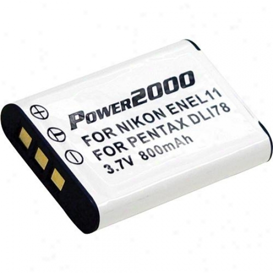 Power 2000 Acd-287 3.7v 800mah Rechargeable Battery