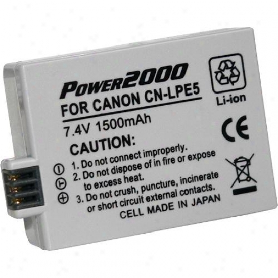 Faculty 2000 Acd-289 Rechargeable Battery