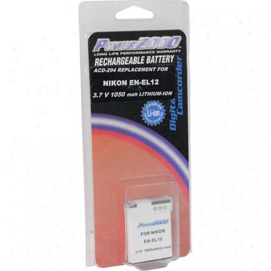 Power 2000 Acd-294 Li-ion Replaccement Digital Camera Battery