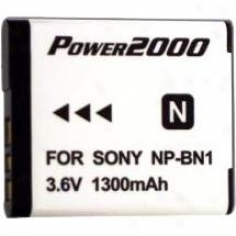 Power 2000 Acd-325 Replacement Battery Because Sony Np-bn1