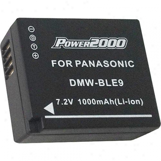Power 2000 Acd-342 Li-ion Rechargeable Battery (panasonic Dmw-ble9 Equivalent)