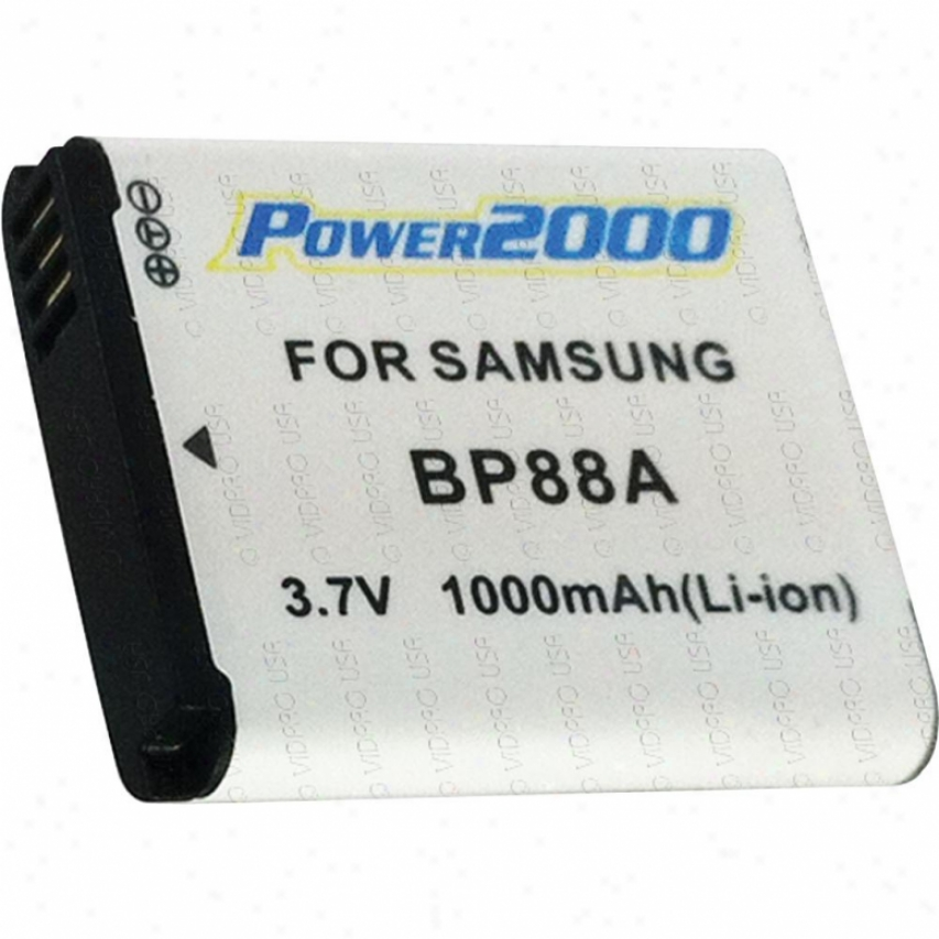 Power 2000 Acd-405 Replacement Battery For Samsung Bl-88a