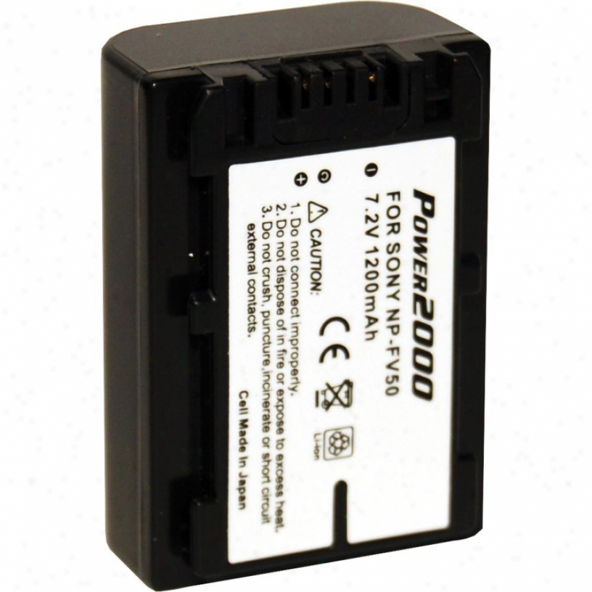 Sovereign 2000 Acd-769 Replacement Battery For Sony Npfv50
