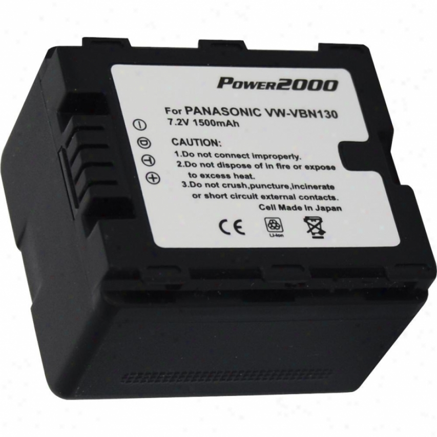Power 2000 Acd-774 7.2v 1500mah Lithium-io Rechargeable Battery