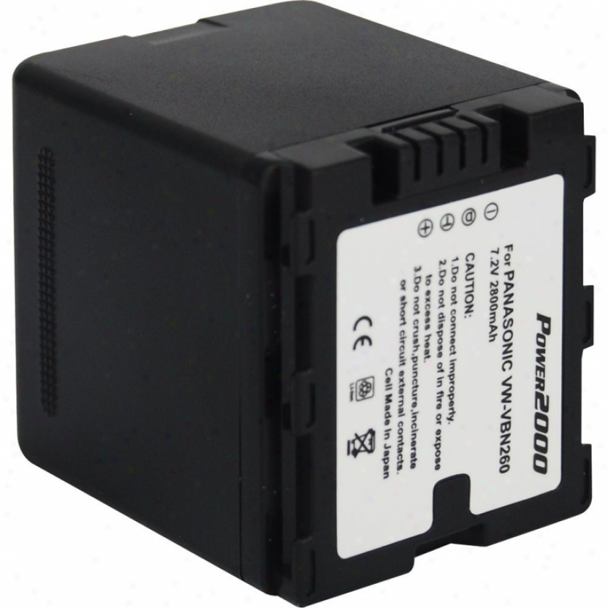 Power 2000 Acd-775 7.2v 2800mah Lithium-ion Rechargeable Battery
