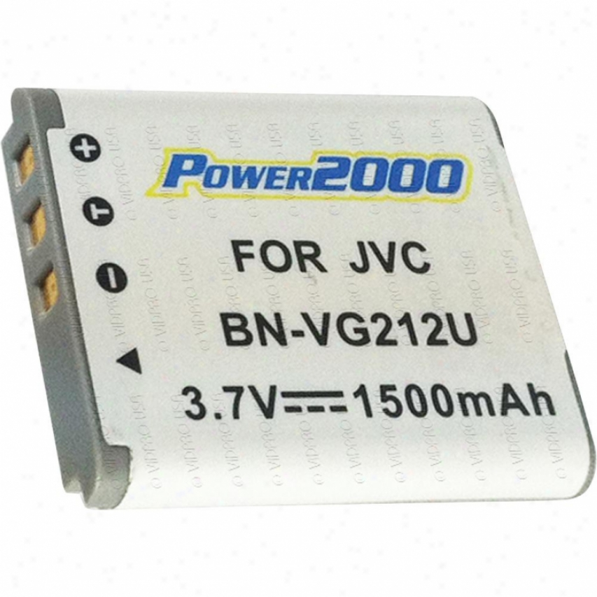 Power 2000 Acd-778 Replacement Battery For Jvc Bn-vg212
