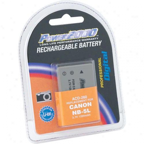 Fleet 2000 Acd260 Digital Camera Battery