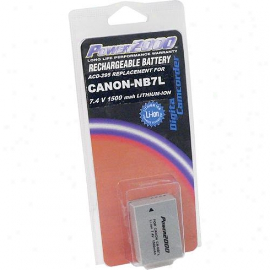 Power 2000 Acd295 Replacement Rechargeable Battery