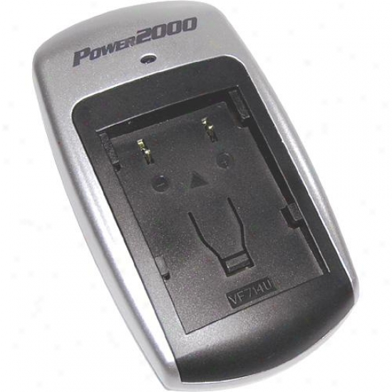 Pwer 2000 Rtc118 Mini Rapid Charger (for Fuji, Minolta, Panasonic & Pentax)