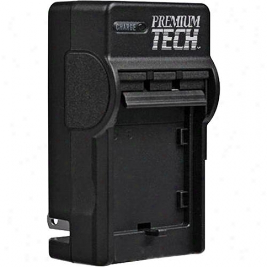 Prekium Tecb Ac/dc Rapid Battery Charger For Canon Lp-e6 Battery - Pt-53