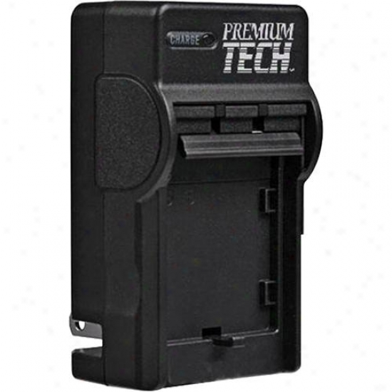 Premium Tech Battery Charger For Samsung Bp-70a / Vidpro Acd-323