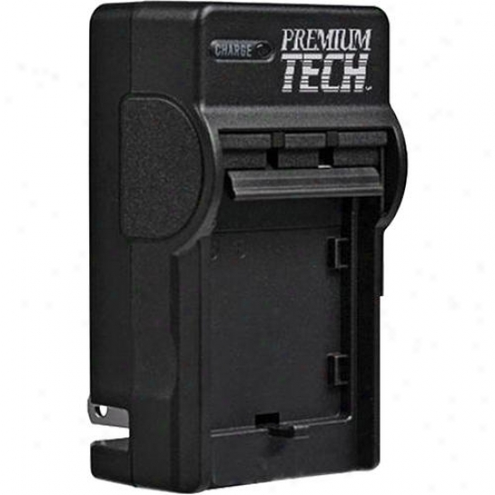 Premium Tech Nikon En-el14 Camera Battery Charger Pt-63