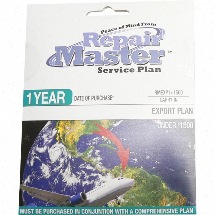 Repair Master Rmexp1u1500 1-year International Export Warranty Service Plan