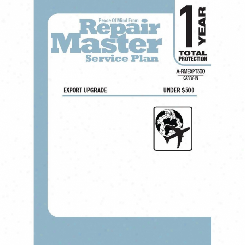 Repair Master Rmexp1u500 1-year International Export Warranty Service Plan