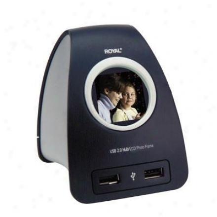 Royal Consumer Usb 2.0 Hub/pnoto Frame