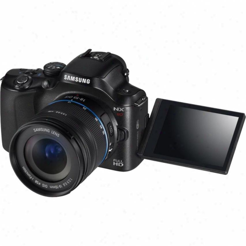 Samsung 20.3 Mp Digital Camera Black