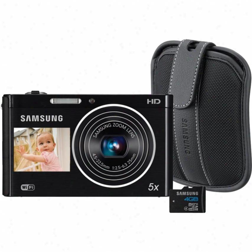 Samsung Dv300 Dualview 16 Megapixel Digital Camera Violin