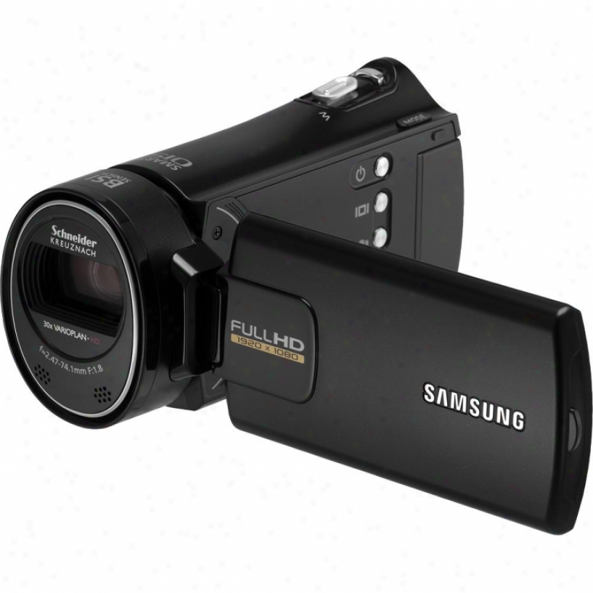 Samsung Open Box Hmx-h300bn Full Hd Camcorder - Black