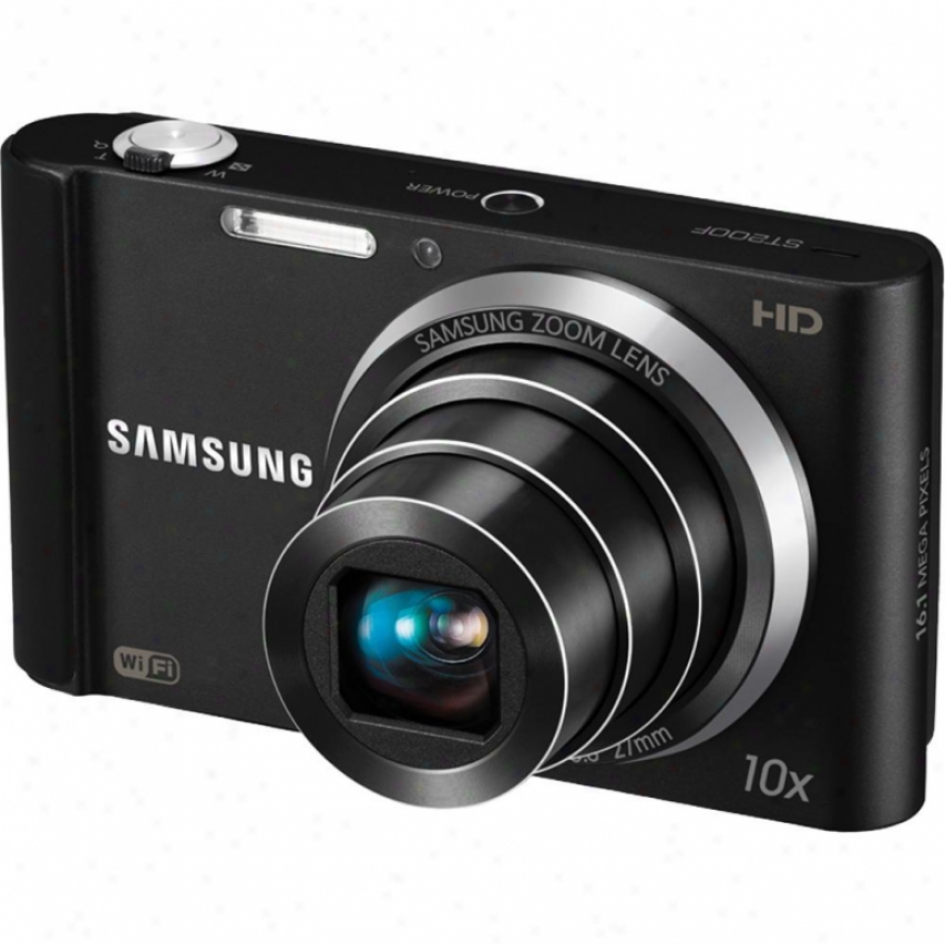 Samsung St-200 16 Megapixel Digital Camera Black