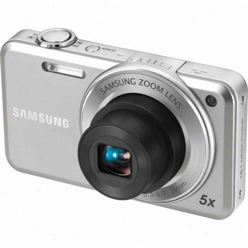 Samsung St95 16 Megapixel Digital Camera - Silver