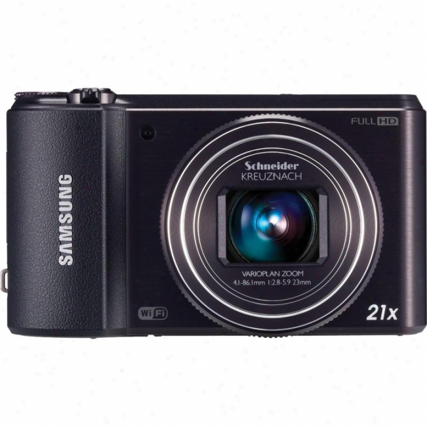 Samsung Wb850f Smart Long Zoom Wifi 16 Megapixel Digital Camera - Black