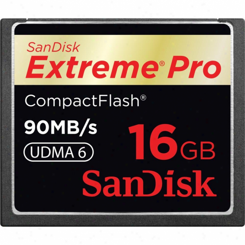 Sandisk 16gb End Pro Compact Flash