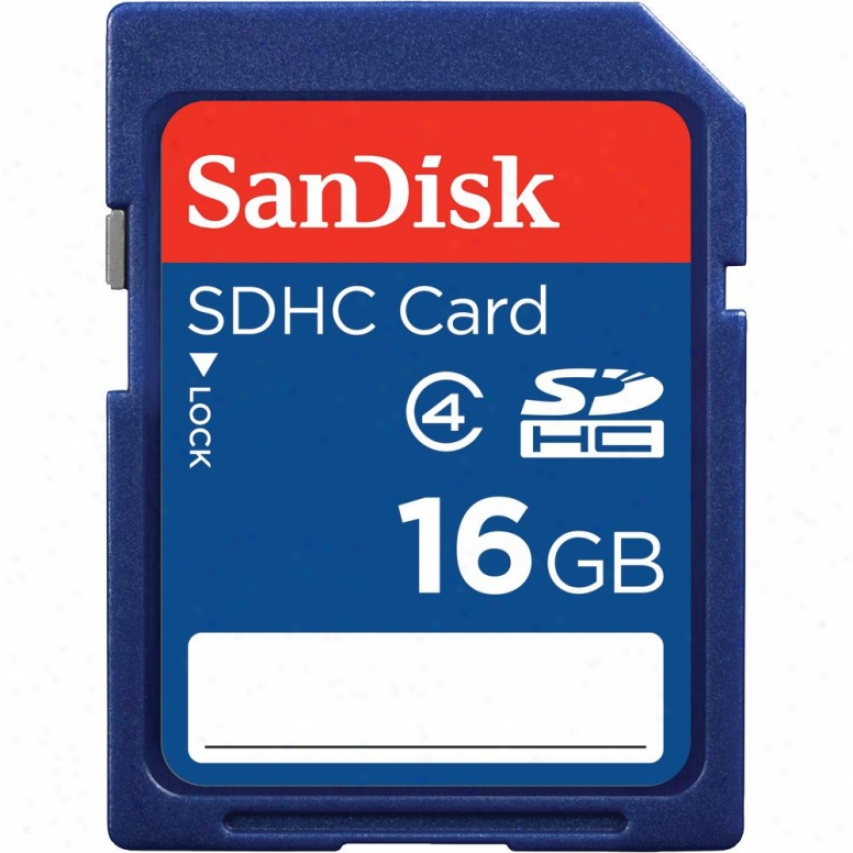 Sandisk 16gb Sdhc Class 2 Memory Card