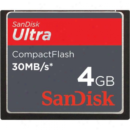 Sandisk 4gb Ultra Speed Bump Compactflas hCard