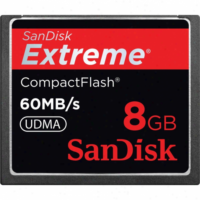 Sandisk 8gb Extreme Compact Flash