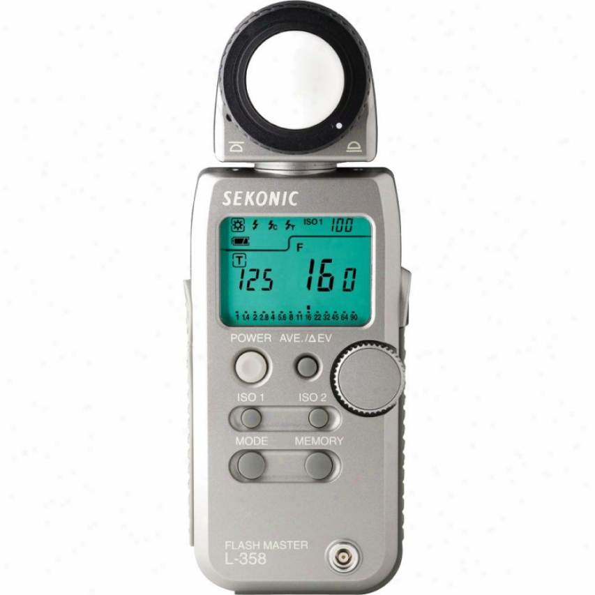 Sekonic L-358 Flash Master Light Meter - 401-358