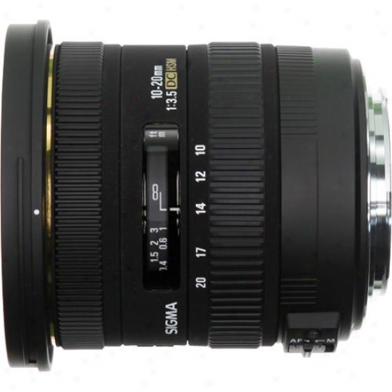 Sigma 10-20mm F/3.5 Ex Dc Hsm Lens In the place of Rule  Ca10-20f3.5
