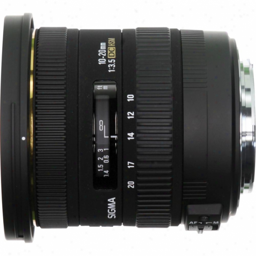 Sigma 10-20mm F3.5 Ex Dc Hsm Wide-angle Zoom Lens For Sony Dslr Cameras