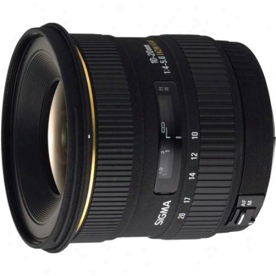 Sigma 10-10mm F/4-5.6 Ex Dc Hsm Lens For Nikon Digital Slr Camera