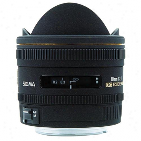 Sigma 10mm F/2.8 Ex Dc Fisheye Hsm Lens For Canon Slr