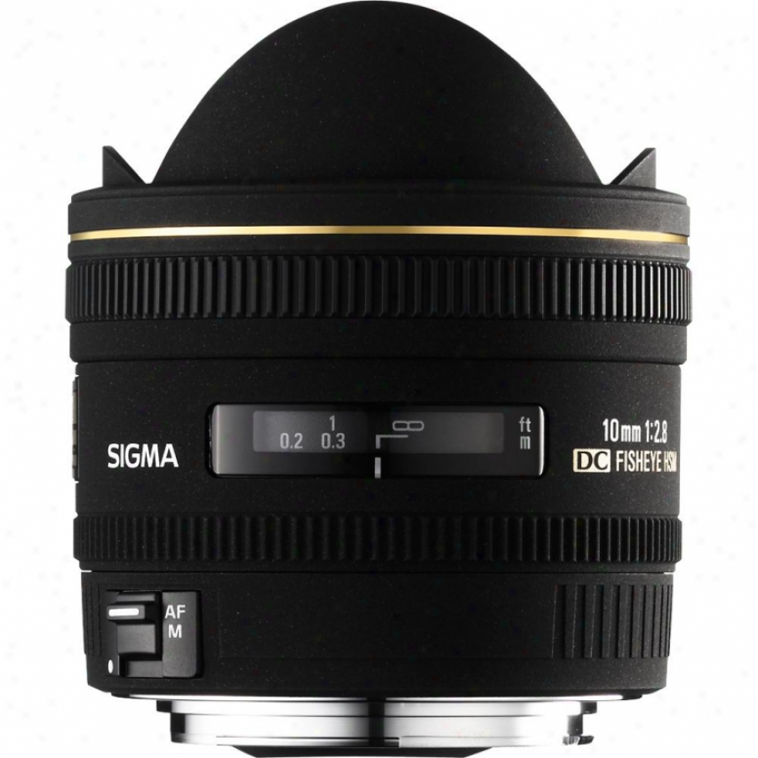 Sigma 10mm F2.8 Ex Dg Hsm Fisheye Lens For Sony Dslr Cameras