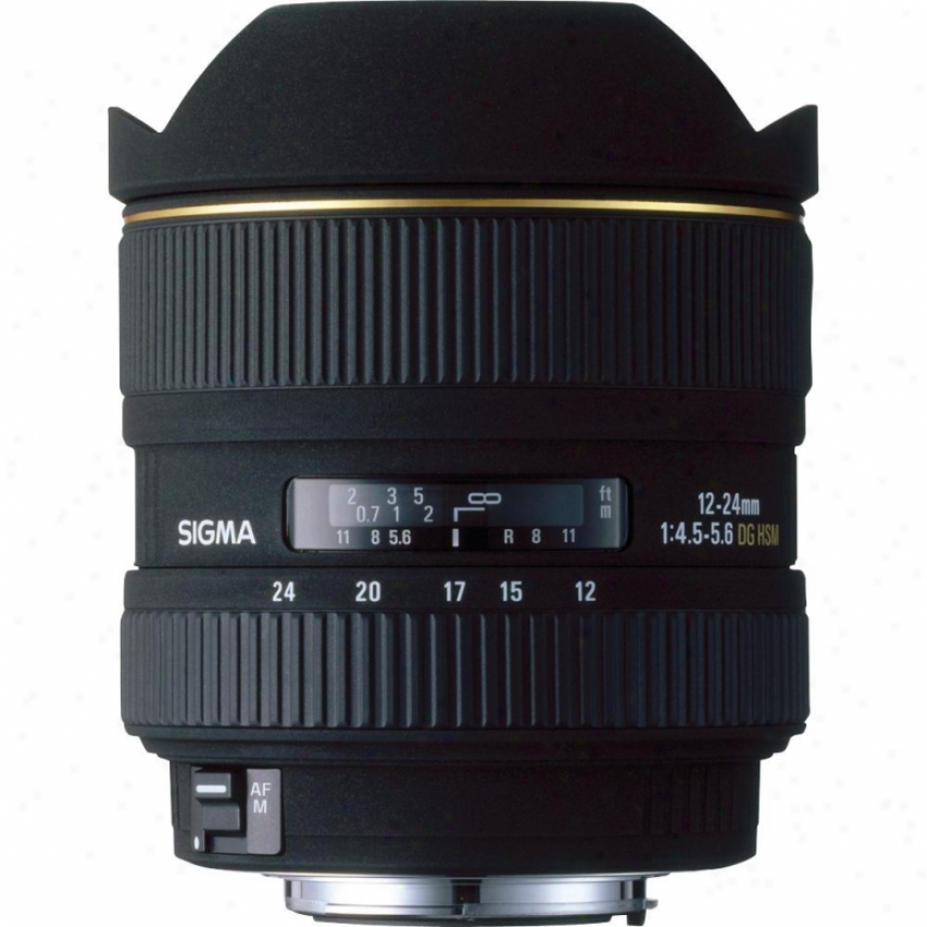 Sigma 12-24mm F4.5-5.6 Ex Dg Asp Hsm Lens For Canon Camera