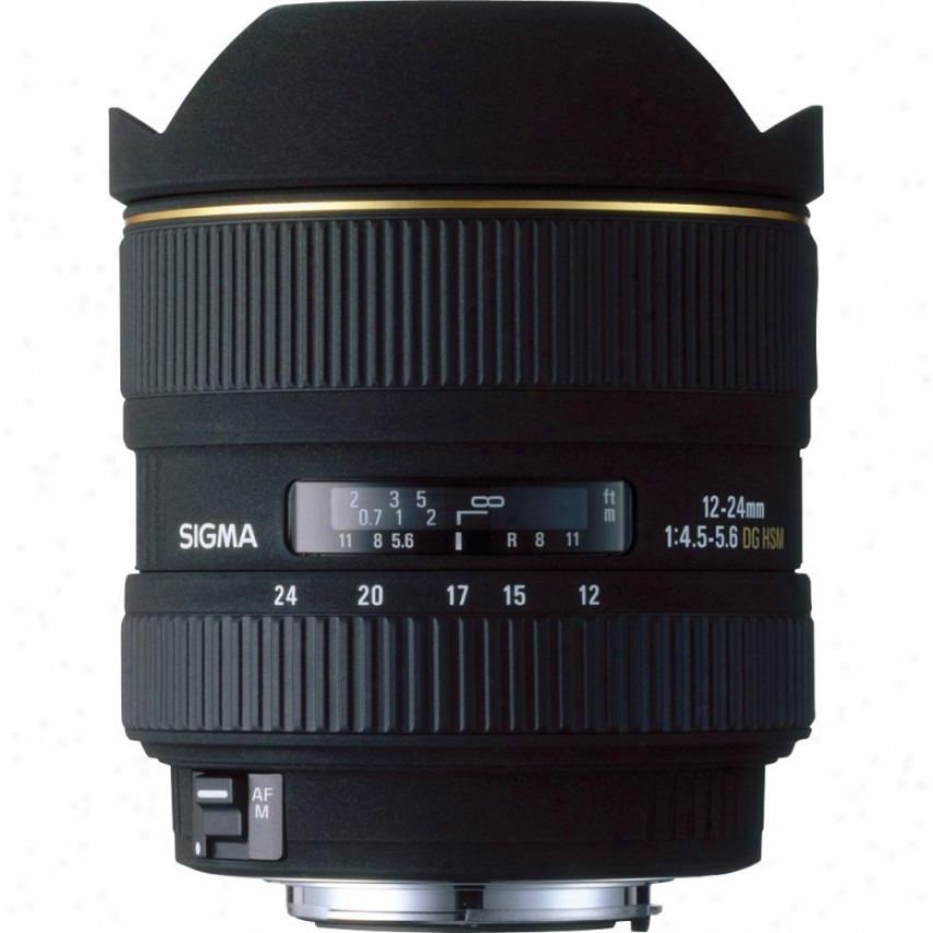 Sigma 12-24mm F4.5-5.6 Ex Dg Asp Hsm Lens For Sony Camera