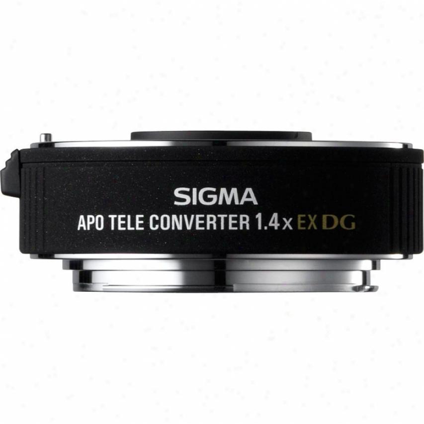 Sigma 1.4x Ex Dg Apo Teleconverter For Nikon