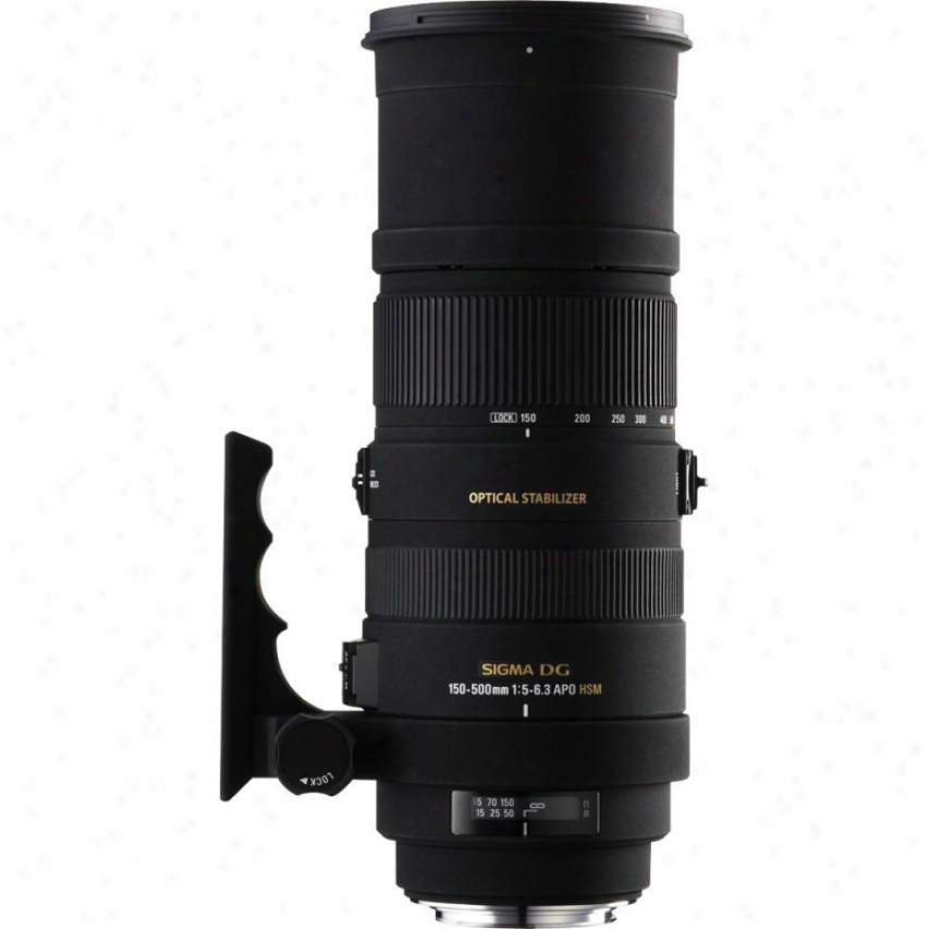 Sigma 150-500mm F5-6.3 Apo Dg Os Hsm Lens For Sony Dslr