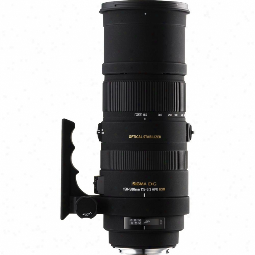 Sigma 150-500mm F5-6.3 Apo Df Os Hsm Telephoto Zoom Lens For Sony Dslr Cameras