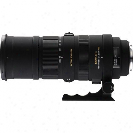 Sigma 150-500mm F/5-6.3 Apo Dg Os Hsm Ultra-telephoto Zoom Lens For Nikon