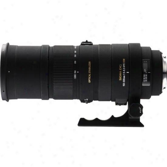 Sigma 150-500mm F/5-6.3 Apo Dg Os Hsm Ultra-telephoto Zoom Lens For Nikon