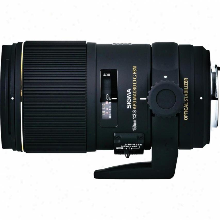 Sigma 150mm F2.8 Ex Dg Os Hsm Apo Macro Lens For Canon Dslr Cameras