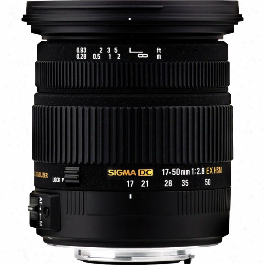 Sigma 17-50mm F2.8 Ex Dc Os Hsm Standard Zoom Lens For Sony Dslr Cameras