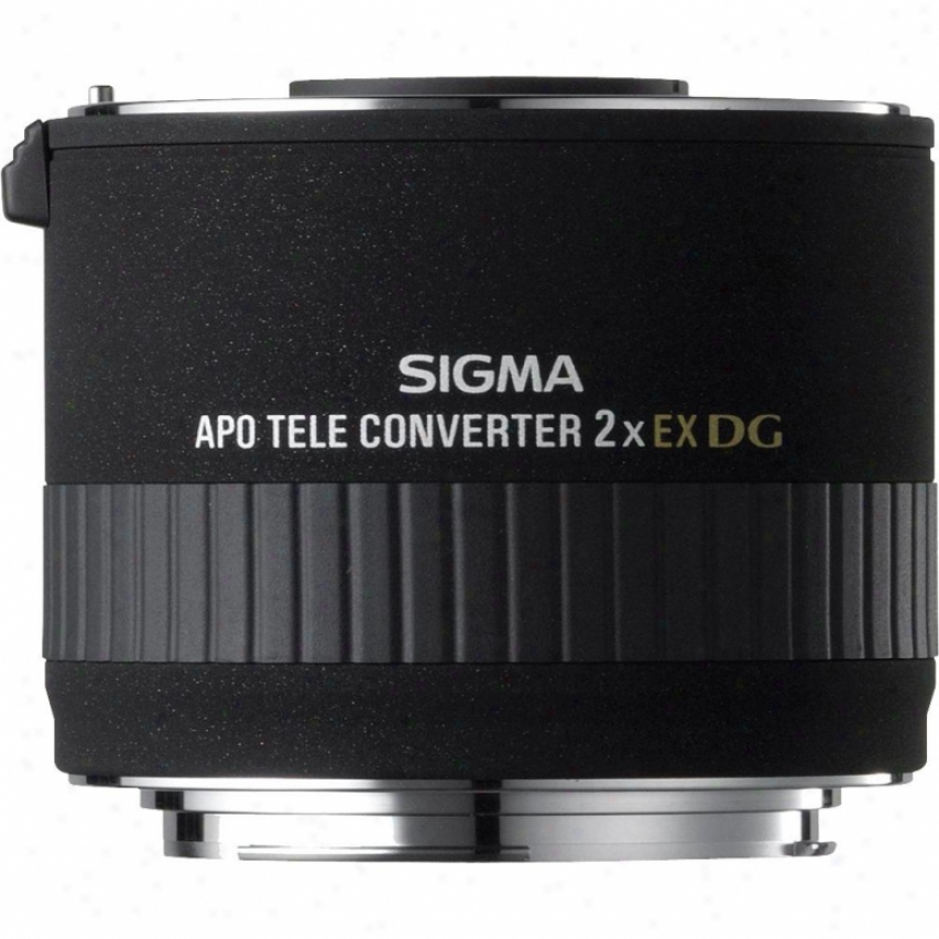 Sigma 2.0x Ex Dg Apo Teleconverter For Sony