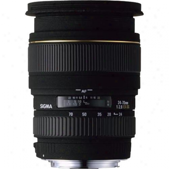 Sigma 24-70mm F/2.8 Suppose that Ex Dg Hsm Lens For Canon Digital Slr Camera Ca24-70mm