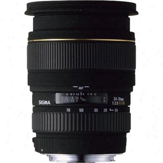 Sigma 24-70mm F/2.8 Whether Ex Dg Hsm Lens For Nikon Digital Slr Camera Na24-70mm