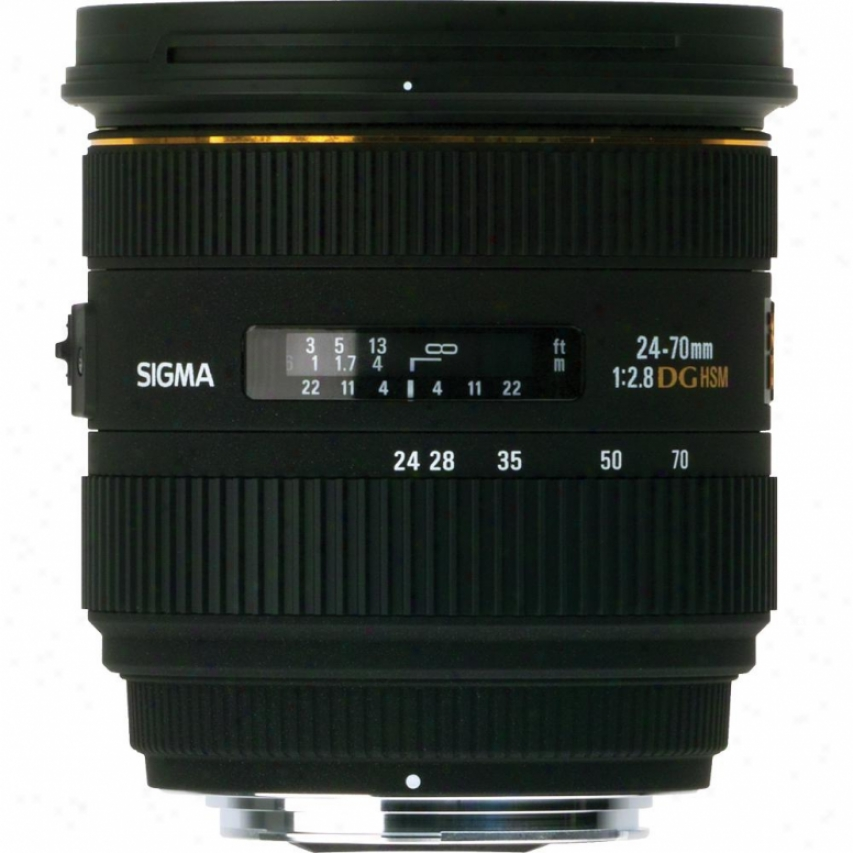 Sigma 24-70mm F2.8 If Ex Dg Hsm Ensign Zoom Lens For Sony Dslt Cameras