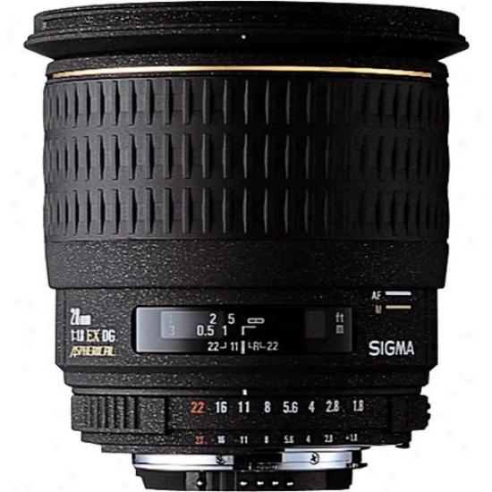 Sigma 28mm F1.8 Ex Dg Asp Macro Wide-angle Lens For Canon Dslr Cameras