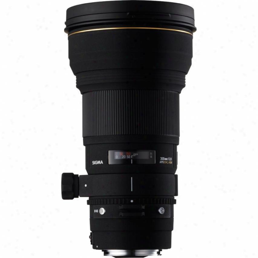 Sigma 300mm F2.8 Ex Apo Dg Hsm Super Telephoto Lens For Nikon Dslr Cameras